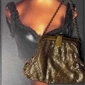 Whiting & Davis vintage micro purse